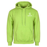 Maricopa Comm Lime Green Fleece Hoodie-Primary Mark Stacked