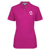 Maricopa Comm Ladies Easycare Tropical Pink Pique Polo-Icon