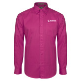 Maricopa Comm Tropical Pink Twill Button Down Long Sleeve-Primary Mark