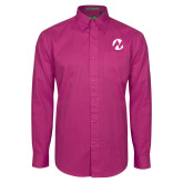 Maricopa Comm Tropical Pink Twill Button Down Long Sleeve-Icon