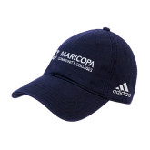 Maricopa Comm Adidas Navy Slouch Unstructured Low Profile Hat-Primary Mark