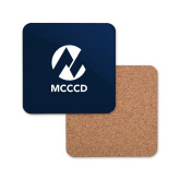 Maricopa Comm Hardboard Coaster w/Cork Backing-Acronym