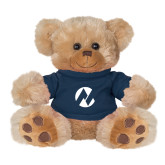 Maricopa Comm Plush Big Paw 8 1/2 inch Brown Bear w/Navy Shirt-Icon