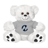 Maricopa Comm Plush Big Paw 8 1/2 inch White Bear w/Grey Shirt-Icon