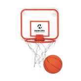 Maricopa Comm Mini Basketball & Hoop Set-Primary Mark Stacked