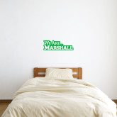 6 in x 2 ft Fan WallSkinz-We Are Marshall