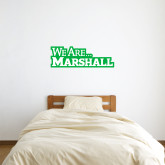 1 ft x 3 ft Fan WallSkinz-We Are Marshall