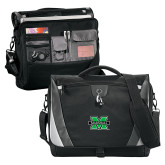 Slope Black/Grey Compu Messenger Bag-M Marshall