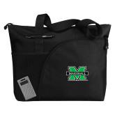 Excel Black Sport Utility Tote-M Marshall