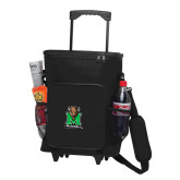 30 Can Black Rolling Cooler Bag-Official Logo