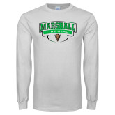 White Long Sleeve T Shirt-Marshall The Herd Design