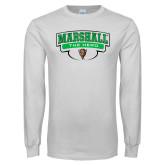 White Long Sleeve T Shirt-Marshall The Herd Design