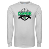 White Long Sleeve T Shirt-Gildan New Mexico Bowl