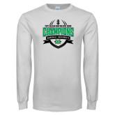 White Long Sleeve T Shirt-Gildan New Mexico Bowl