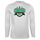 Syntrel Performance White Longsleeve Shirt-Gildan New Mexico Bowl