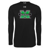 Under Armour Black Long Sleeve Tech Tee-M Marshall