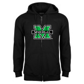 Black Fleece Full Zip Hood-M Marshall