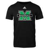 Adidas Black Logo T Shirt-M Marshall