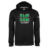 Under Armour Black Performance Sweats Team Hood-Alumni