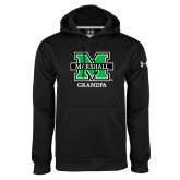 Under Armour Black Performance Sweats Team Hood-Grandpa
