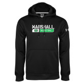 Under Armour Black Performance Sweats Team Hoodie-Basketball Bar Design