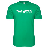 Next Level SoftStyle Kelly Green T Shirt-The Herd