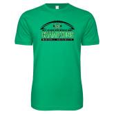Next Level SoftStyle Kelly Green T Shirt-Gildan New Mexico Bowl