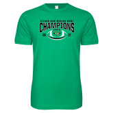 Next Level SoftStyle Kelly Green T Shirt-Gildan New Mexico Bowl