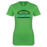 Next Level Ladies SoftStyle Junior Fitted Kelly Green Tee-Gildan New Mexico Bowl