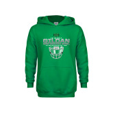 Youth Kelly Green Fleece Hoodie-New Mexico Bowl - Face Mask
