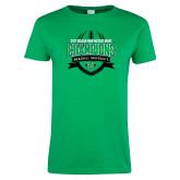 Ladies Kelly Green T Shirt-Gildan New Mexico Bowl