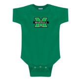 Kelly Green Infant Onesie-M Marshall