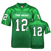 Replica Kelly Green Adult Football Jersey-#12