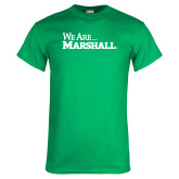Kelly Green T Shirt-We Are Marshall