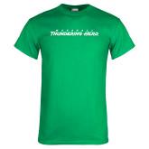 Kelly Green T Shirt-Marshall Thundering Herd