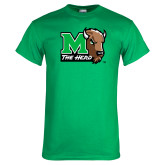 Kelly Green T Shirt-M The Herd w Head
