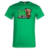 Kelly Green T Shirt-M The Herd w Head