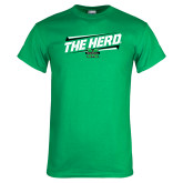 Kelly Green T Shirt-The Herd Fancy Lines