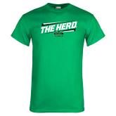 Kelly Green T Shirt-The Herd Fancy Lines