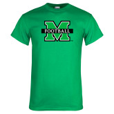 Kelly Green T Shirt-Football