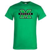 Kelly Green T Shirt-Soccer