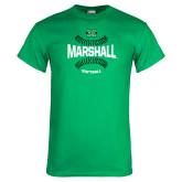 Kelly Green T Shirt-Softball Ball Design
