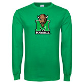 Kelly Green Long Sleeve T Shirt-Official Logo