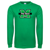 Kelly Green Long Sleeve T Shirt-M The Herd