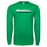 Kelly Green Long Sleeve T Shirt-Marshall University