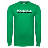 Kelly Green Long Sleeve T Shirt-Marshall University