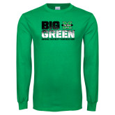 Kelly Green Long Sleeve T Shirt-Big Green