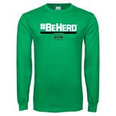 Kelly Green Long Sleeve T Shirt-BeHerd
