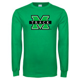 Kelly Green Long Sleeve T Shirt-Track