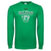 Kelly Green Long Sleeve T Shirt-New Mexico Bowl - Face Mask